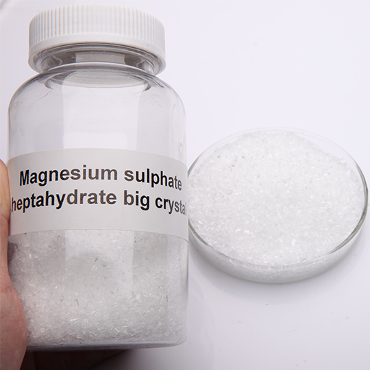 Magnesium Sulphate Heptahydrate Mgso4.7H2O Normal Grade