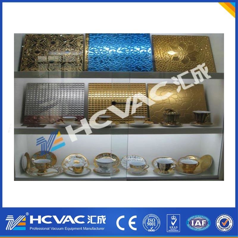 HCVAC Gold, Rose, Silver, Black, Blue Metallization PVD Vacuum Coating Machine