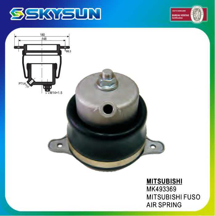 for Mitsubishi Fuso Air Spring (rear) Japanese Truck Auto Parts