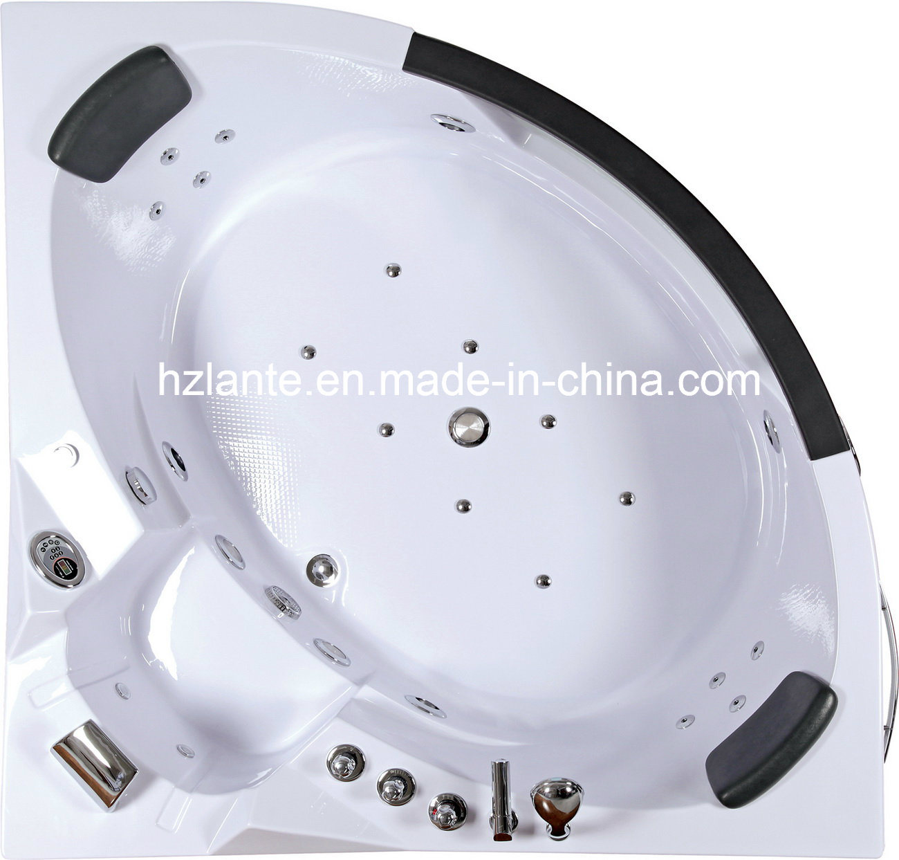 TUV CE Approved Luxury Whirlpool Massage Bathtub (TLP-632)