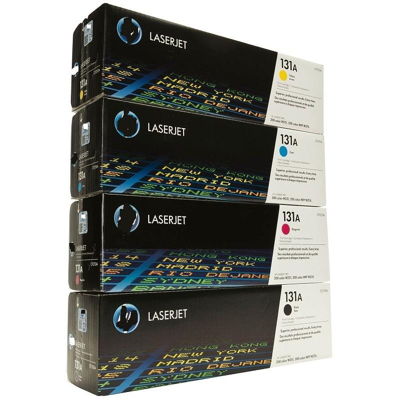 Wholesale CB540A CF210A Cc530A Q6000A Ce270A Ce400A Ce260A Original Color Toner Cartridge for HP Printer