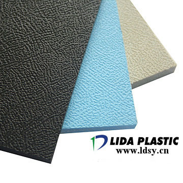 PP Embossed Grey Sheet