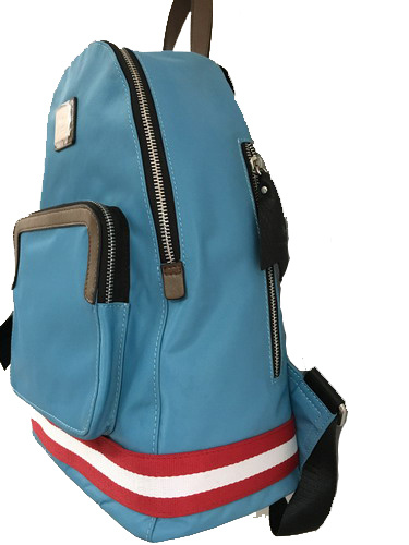 Wholesal Fashion Lady Nylon with Leather Backpack /Hight Quality (1607-47)
