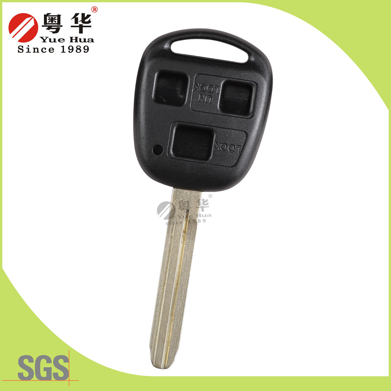 Without Logo 3 Buttons Smart Key Blank for Car