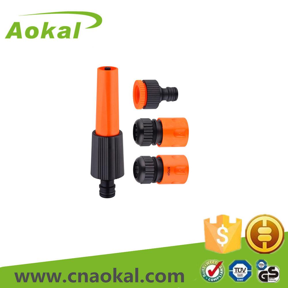 "Watering Nozzle 1/2"" 4 PCS Basic Water Garden Hose Nozzle"