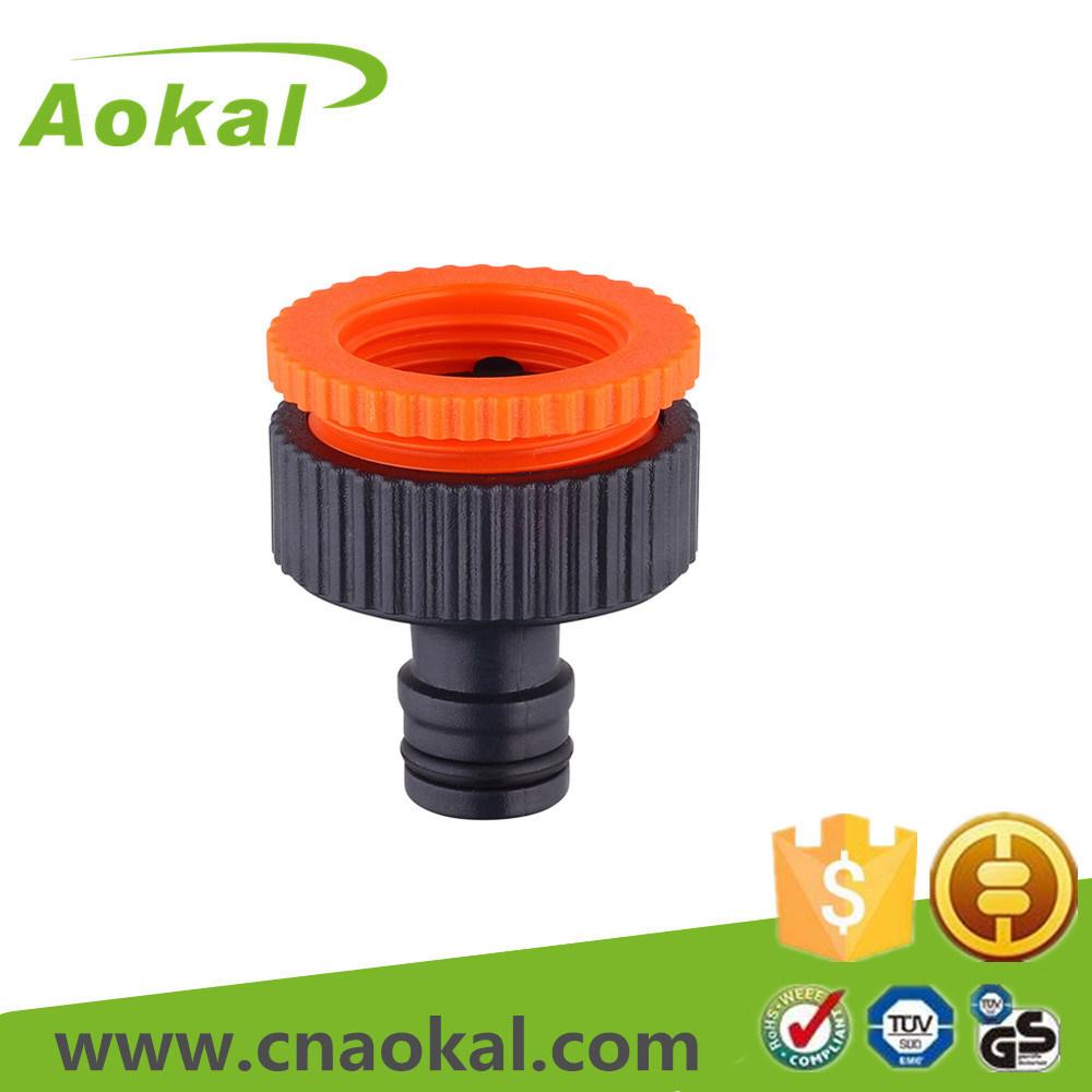 "Plastic Flexible Water Hose Connector 3/4""-1"" Female Tap Adaptor"