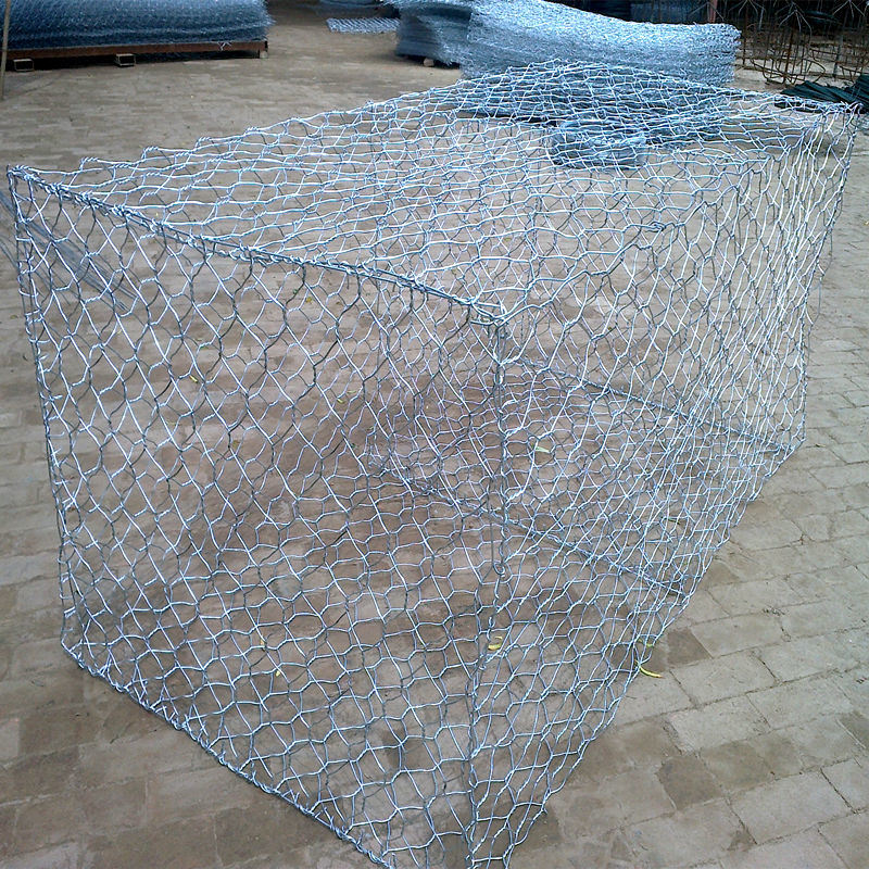 China Premium Galvanized Gabion Box Mesh for Retaining Wall