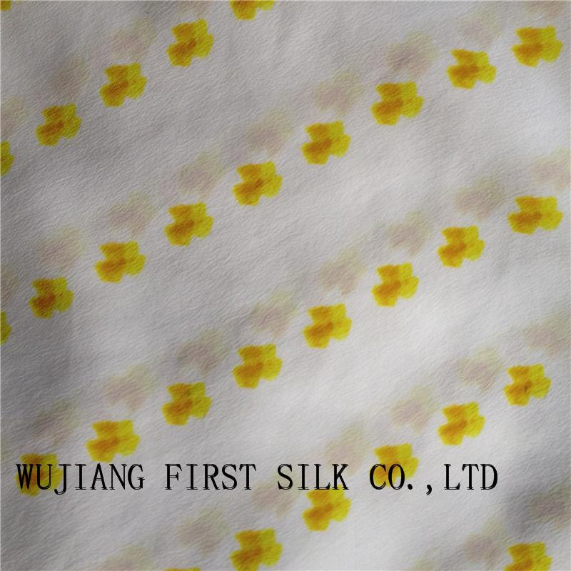 Printed 18mm Silk Cdc Fabric, Silk Crepe De Chine Fabric, Silk Crepe Fabric, Stretch Silk Cdc Fabric