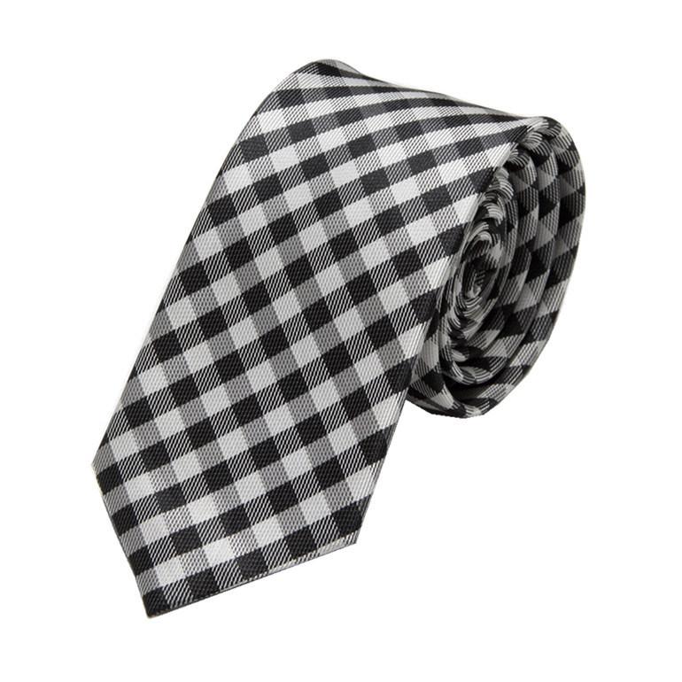 2016 Men Fashion Plaid Design Polyester Ties (WH24)