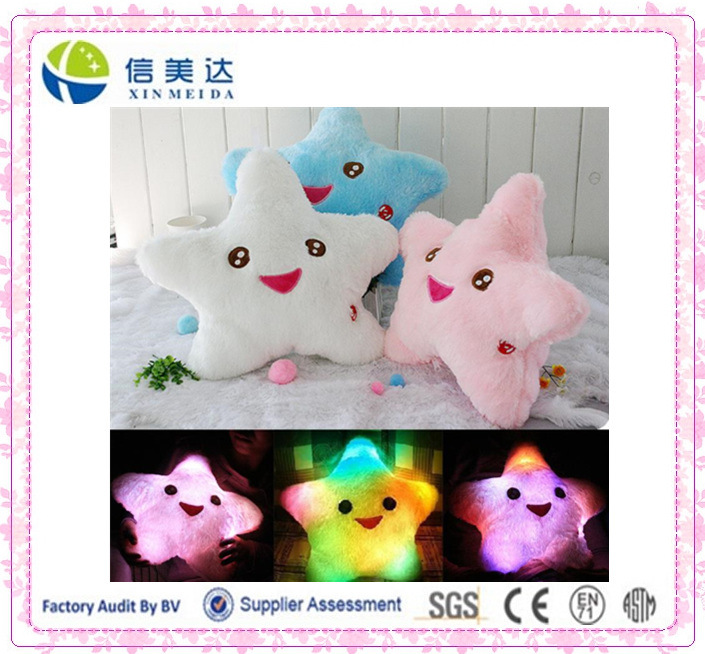 Star LED Light Pillow Star Luminous Pillow Light