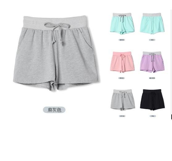 OEM Women Clothing 2015 High Quality Sportswear Women Cotton Shorts
