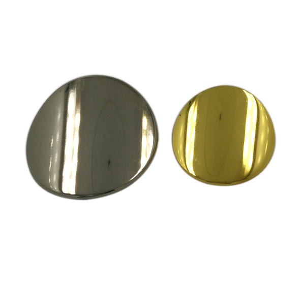 Garment Fashion Accessories Custom Metal Shank Buttons