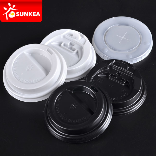 Plastic Lid for Hot Drinking Paper Cup