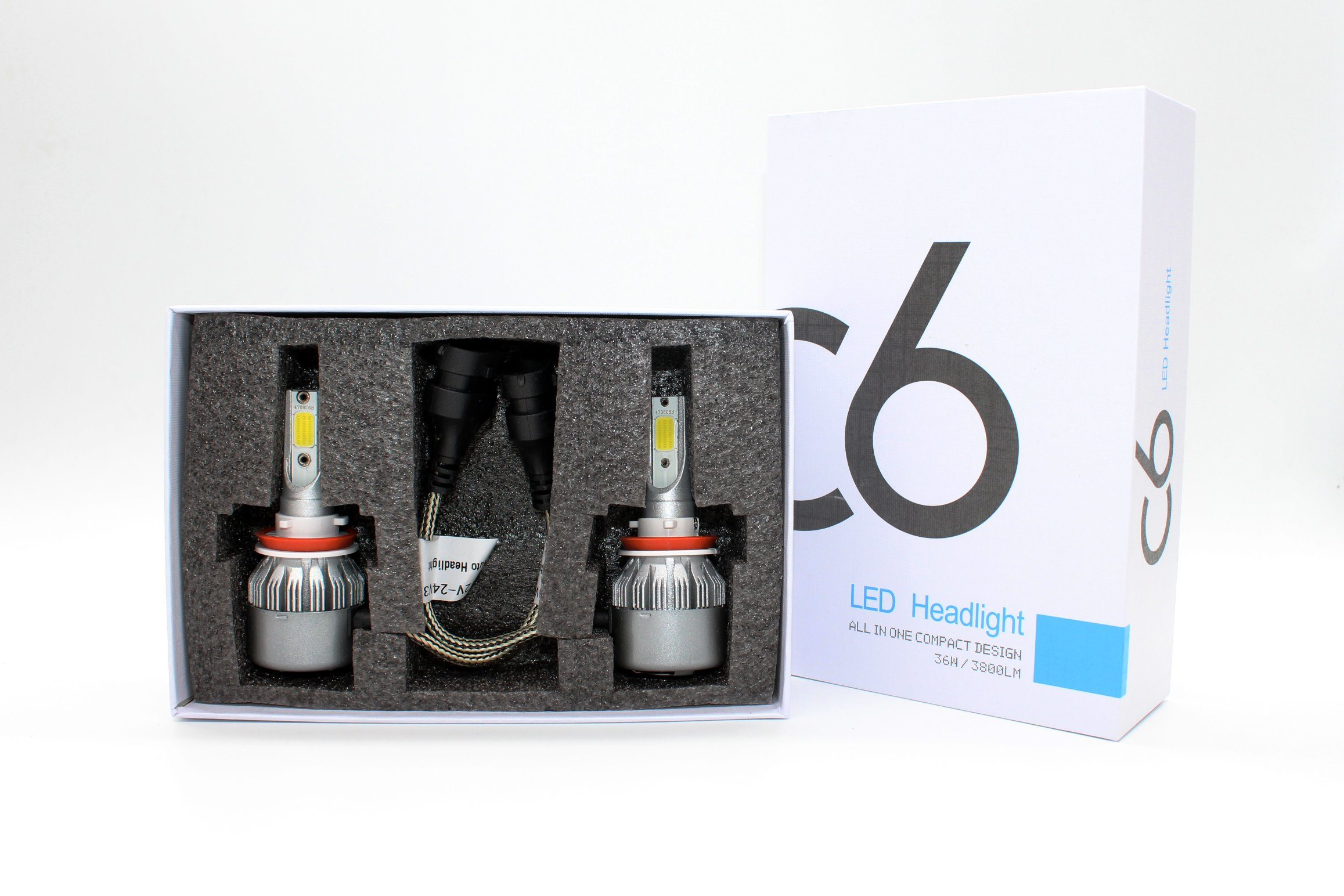 2017 Hot Selling H13 Generation Headlight 12V 40W Auto LED Headlight