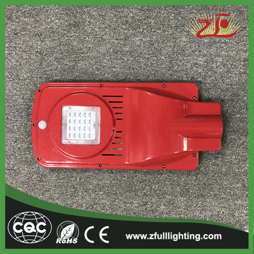20W Factory Sales New Design Solar Powered Energy LED Street Light