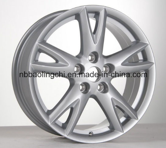 17 Inch Car Aluminum Wheels with PCD 5X114.3 for Nissan