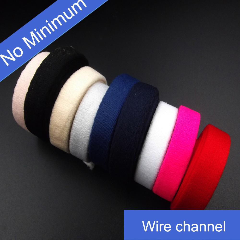 No Minimum Bra Custom Wire Channel
