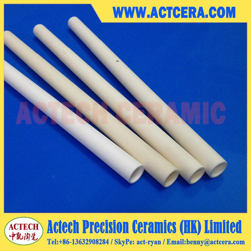 99% Al2O3/99.5% High Purity Alumina Ceramic Tube Machining