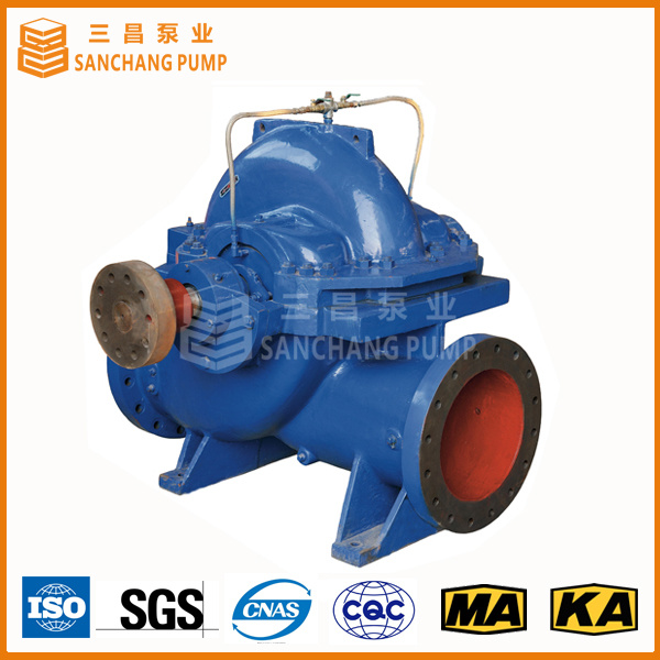 Single Stage Double Suction Axially Split Case Pump for Transfering Large Quantity Liquid