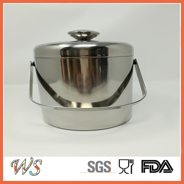 Ws-Br04 Handle High Quality Modern Ice Bucket