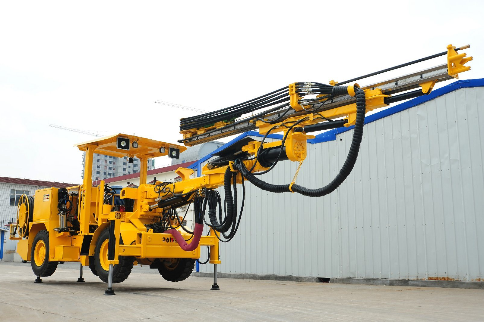 Single Boom Underground Hydraulic Drilling Jumbo