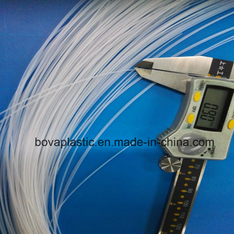 0.8mm Outer Diameter Lubrication Medical Grade Plastic Tube