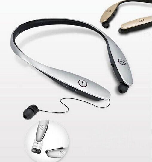 Stylish Neckband Hands-Free Retractable Bluetooth Stereo Headphone