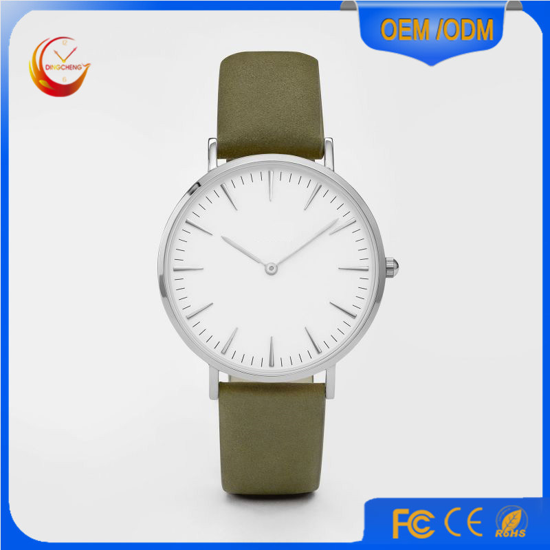 Promotion Sport Stainless Steel Fashion Lady Men′s Quartz Wrist Watch