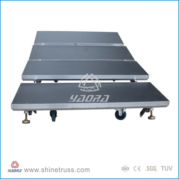 Aluminum Chorus Stage Adjustable Stage