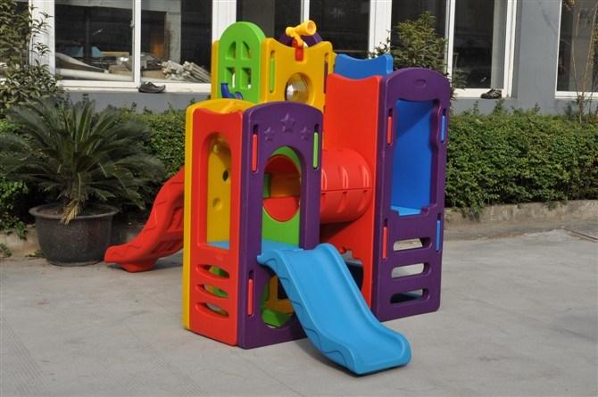 Indoor and Outdoor Playground with Kids Slide