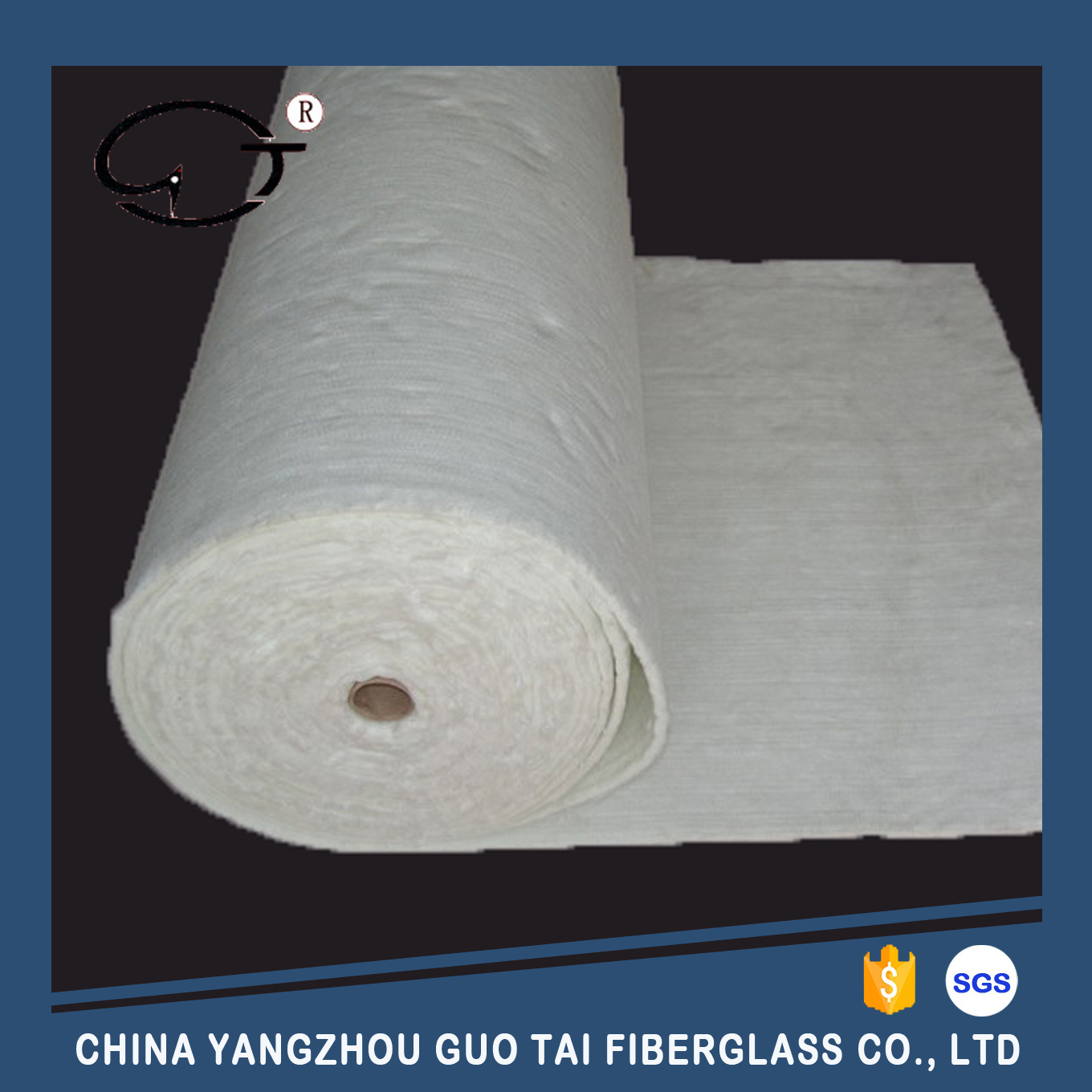 High Tensile Strength Fiberglass Reinforced Needle Mat