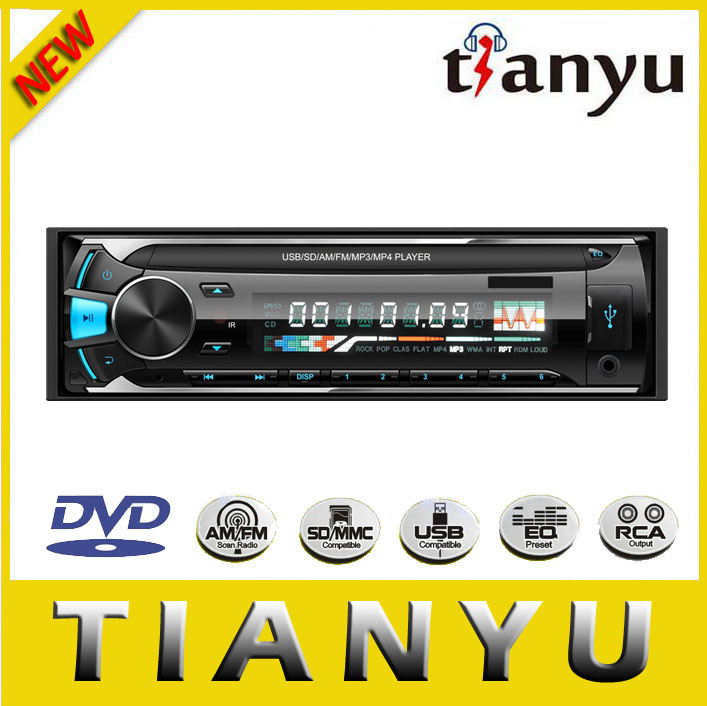 Detachable Single DIN Car Audio Car Amplifier Car MP3 USB SD FM Player Car Radio