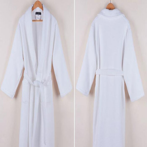 Cheapest Waffle Bathrobe for Hotel/Home Pajamas (DPF10133)