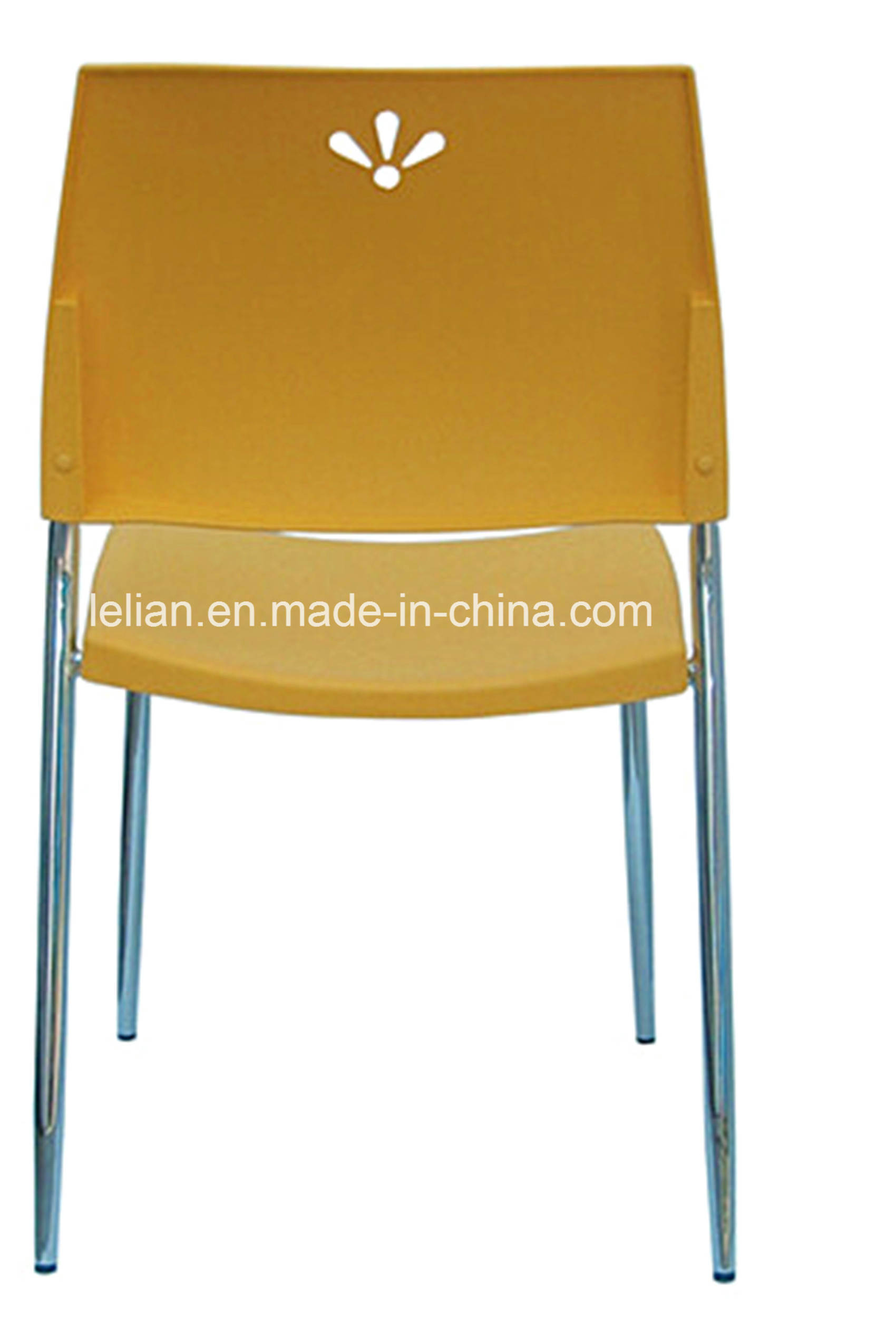 Armless Visitors Stack Chair with Comfortable Medium Back (LL-0029)