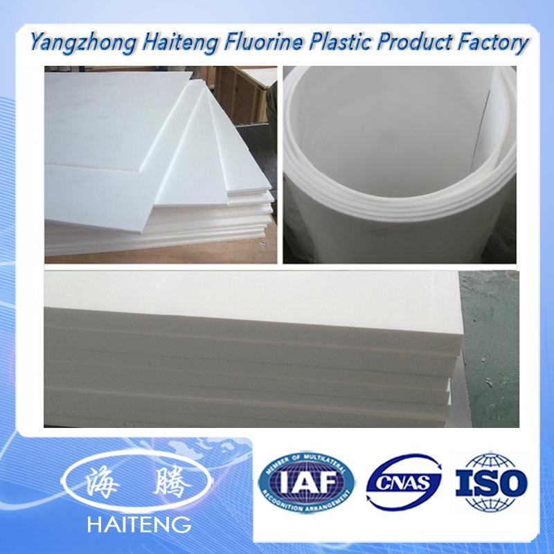 PTFE/PP/PE/PVC Moulded Plastic Sheet Teflon Plastic Sheet