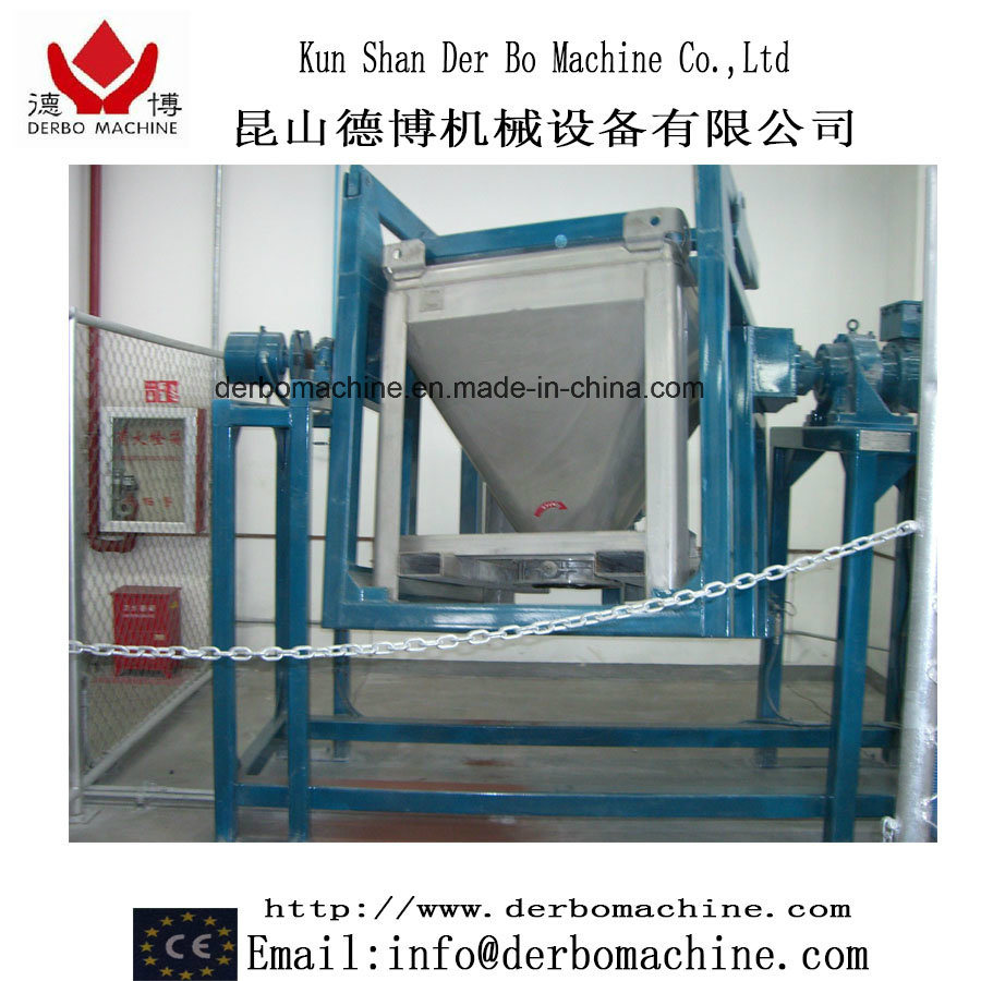 Powder Coating Mixer with Container Tumbling