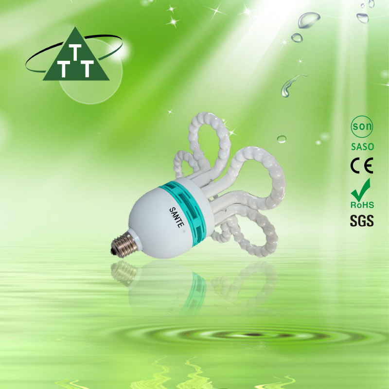 Energy Saving Lamp 105W Small Flower Halogen/Mixed/Tri-Color 2700k-7500k E27/B22 220-240V