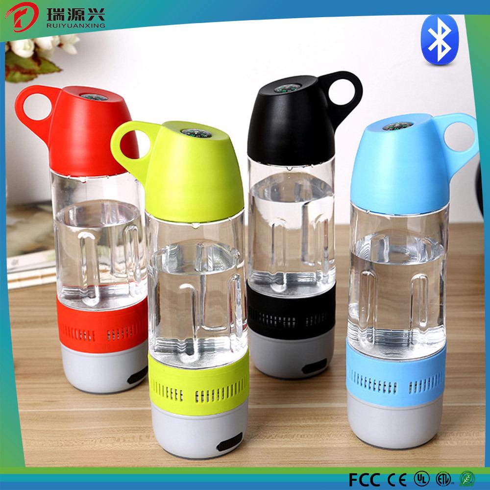 Waterproof Outdoor Water Bottle Bluetooth Speaker