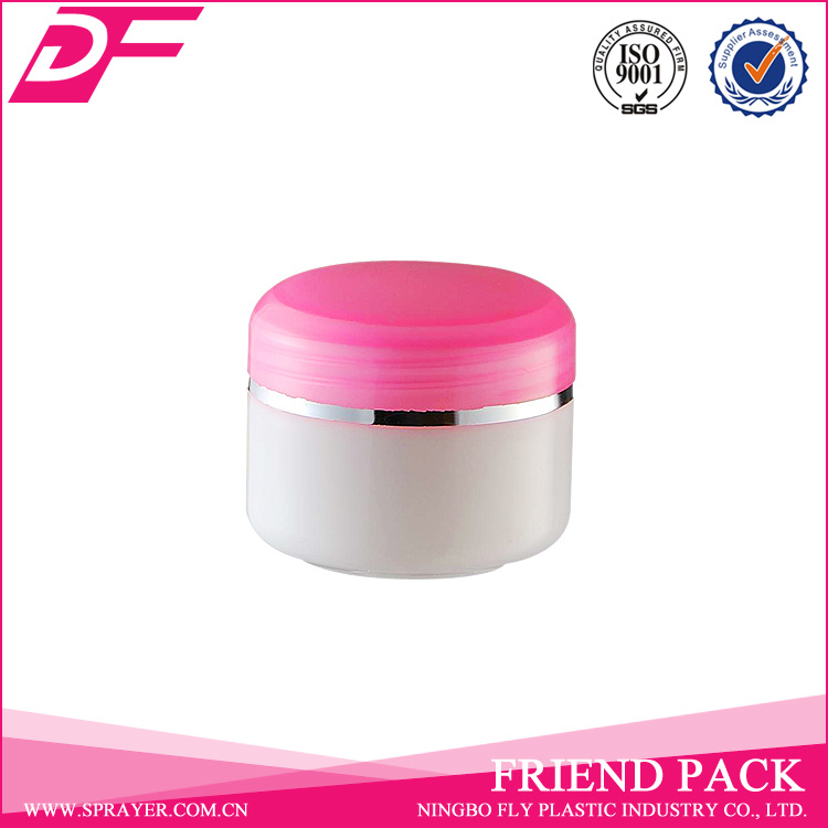 Plastic Cosmetic Cream Jar PP 50ml