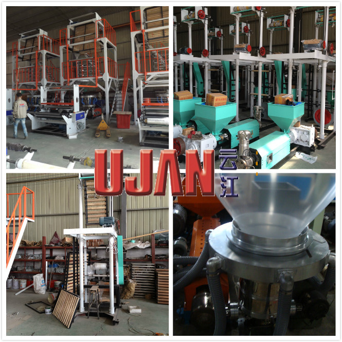 High Speed HDPE Film Blowing Machine