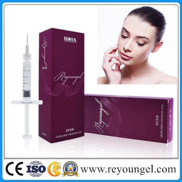 Pure Long Lasting Filler Hyaluronic Acid Dermal Filler 1ml for Anti Wrinkles