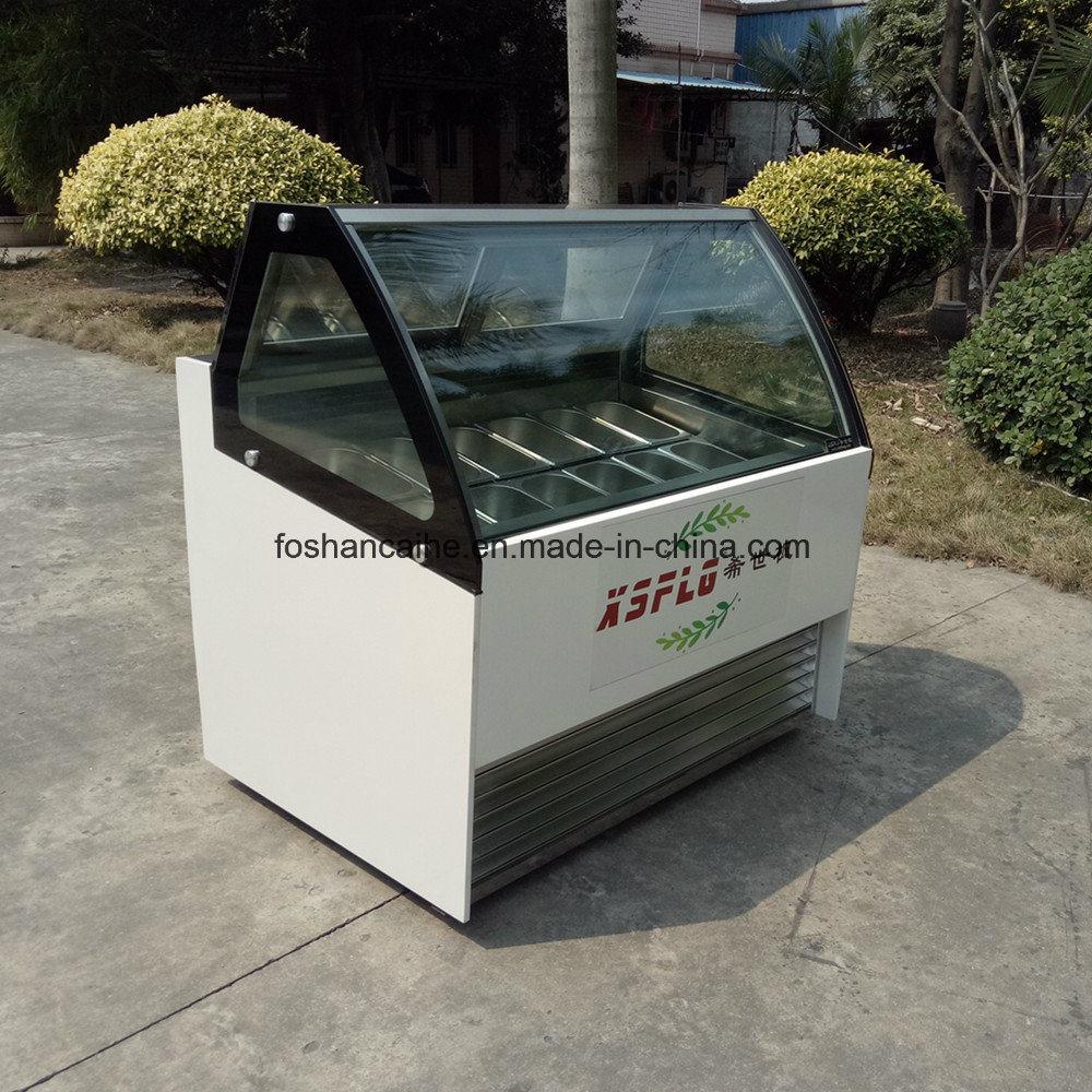 Gelato Showcase/Ice Cream Freezers/Ice Cream Display Case