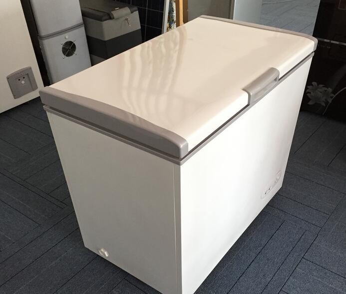 12/24V Solar Vertical Deep Freezer with High DC Compressor