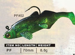 Fishing Plastic Soft Lure