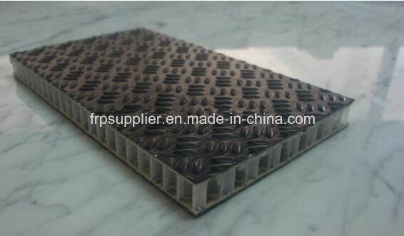 Anti-Skid PP Honeycomb Fiberglass FRP Sandwich Panel