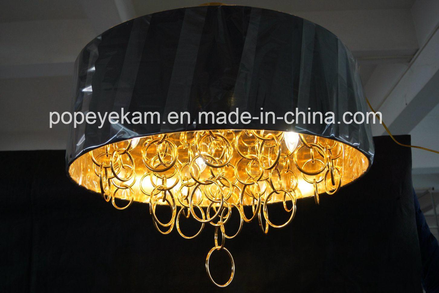 Decorative Iron Gold Plated Chandelier Pendant Lighting (ka9022)