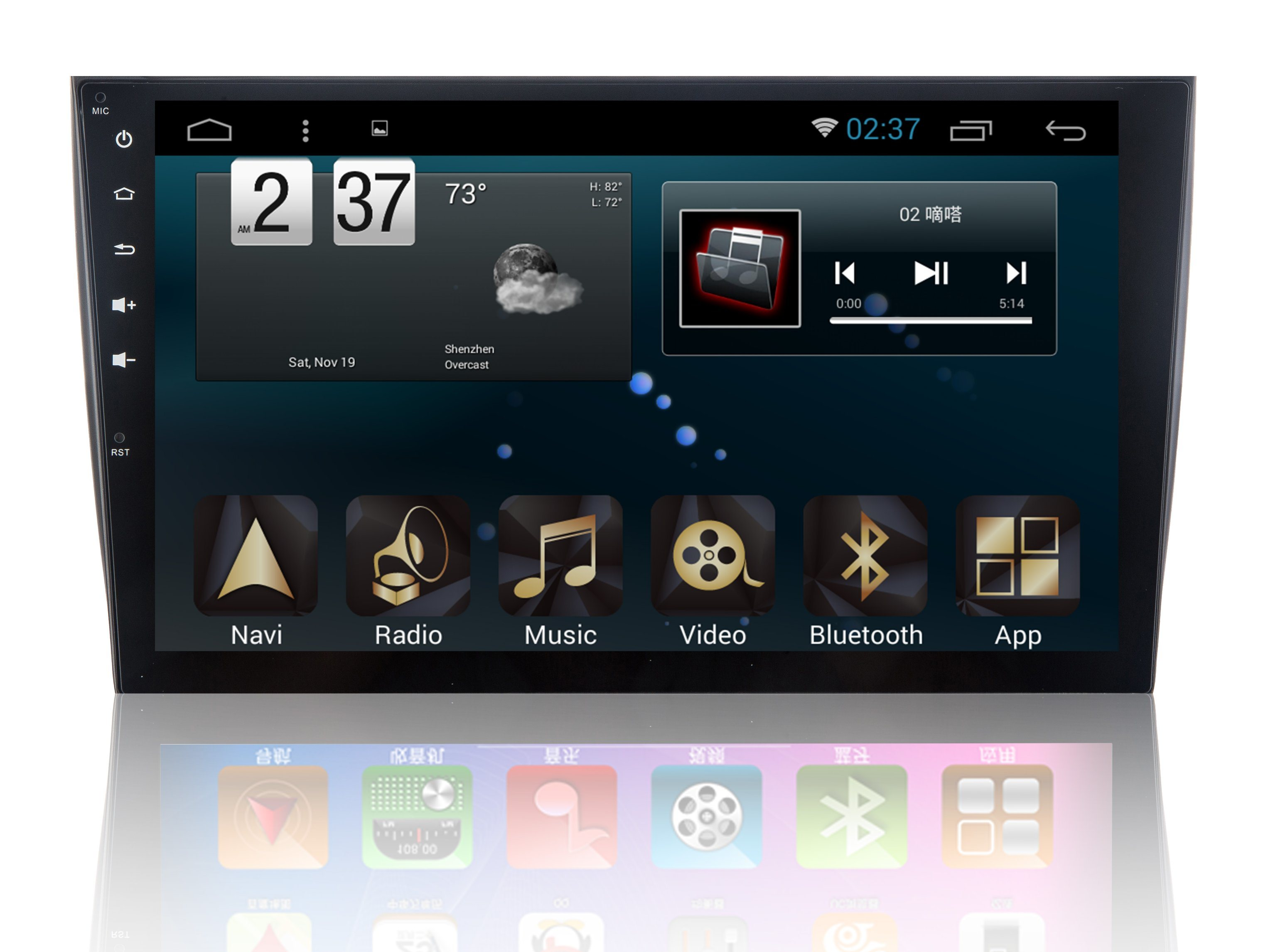 New Ui Android 6.0 System Car GPS for Volkswagen Polo with Car DVD Player and Navigation