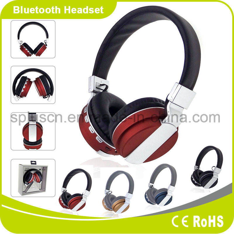 Best Wireless Bluetooth Headphone SD Card OEM FM Radio Headphone