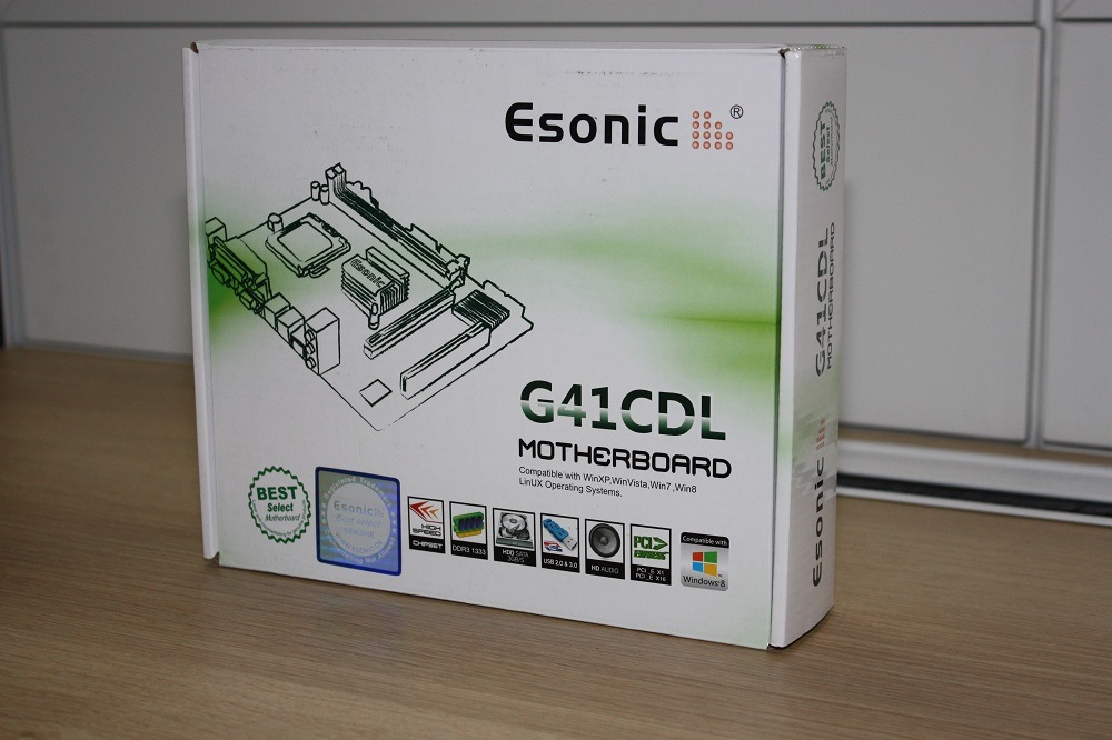 Esonic LGA775 Mainboard Motherboard G41CDL2 Ultra, Made by Itzr Group