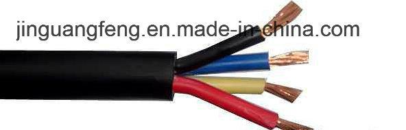 Zr-Kvvr 450/750V Cu/PVC/PVC Flame Retardant Control Cable